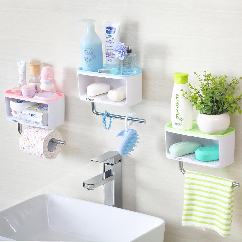 [aiken]免釘無痕浴室肥皂置物架
