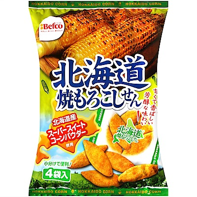 栗山 北海道烤玉米米果(72g)