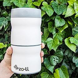 美國 Zoli 雙層不鏽鋼保溫保冷食物分裝盒 (3種顏色)