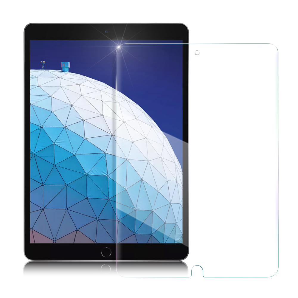 Xmart  iPad Air(2019)/iPad Pro 10.5吋強化指紋玻璃保護貼