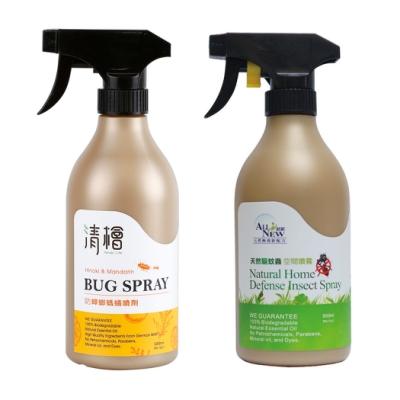 清檜Hinoki Life天然防蟑螂螞蟻噴劑+天然驅蚊蟲空間噴霧(500ml/瓶)