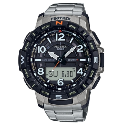 CASIO卡西歐 藍芽連結登山錶(PRT-B50T-7D)