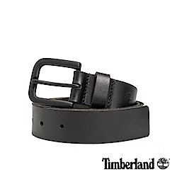 Timberland 中性霧黑色35mm皮帶|A1DQG