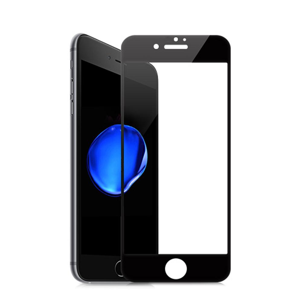【SHOWHAN】全覆蓋iPhone 8 (4.7吋) 高清亮面9H鋼化玻璃保護貼