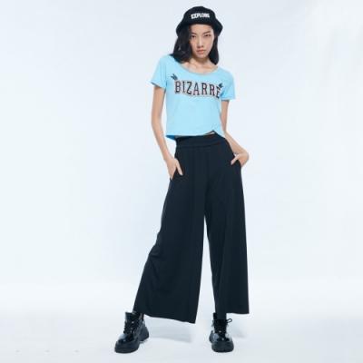 UDOU BIZARRE短版T恤(藍)