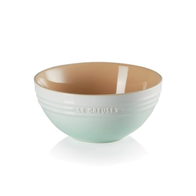 LE CREUSET 瓷器麵碗17cm-冰川綠