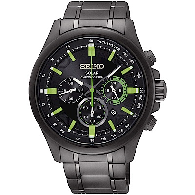 SEIKO精工 Criteria年度限定 太陽能計時運動錶(SSC689P1)-43mm