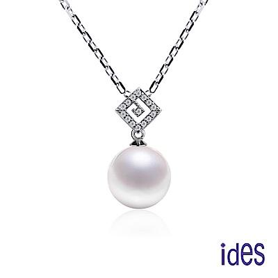 ides愛蒂思 限量日本設計款珍珠母貝項鍊/氣質10mm