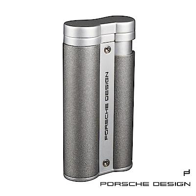 保時捷Porsche Design P3633花火焰雙筒打火機(深灰)