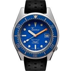 SQUALE 鯊魚錶 1521經典系列機械錶-藍x黑/4