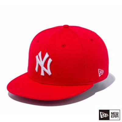 NEW ERA 9FIFTY 950 LOGO NY 紅/白 棒球帽
