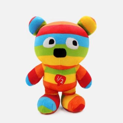 WHY AND 1/2 普普熊玩偶