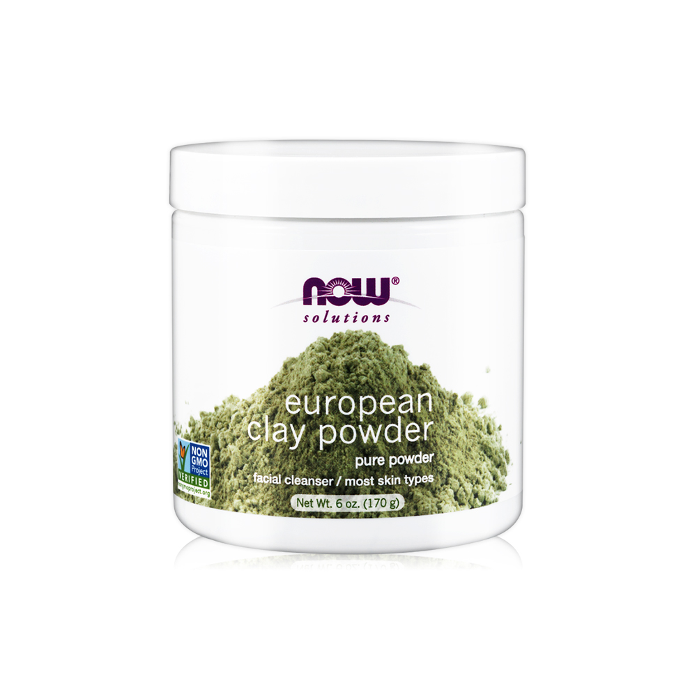 NOW 歐洲蒙脫土泥膜(6oz/170g) European Clay Powder