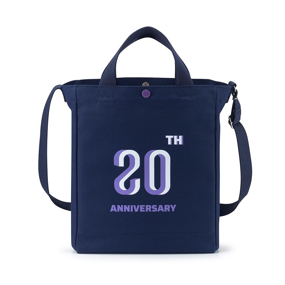 PORTER - 經典紀念B'TWEEN手提斜背兩用托特包 - 藍配紫