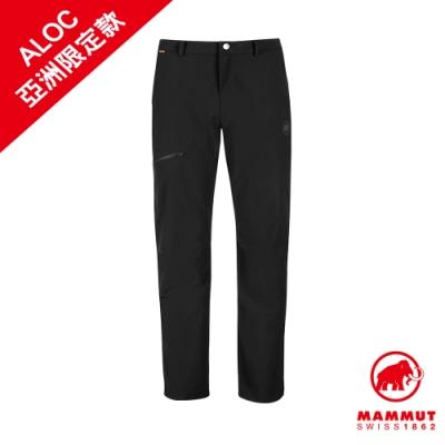 【Mammut 長毛象】Convey Winter Pants AF Men 彈性防潑水軟殼長褲 黑色 男款 #1021-00560