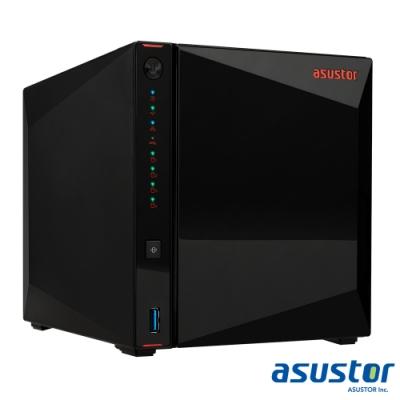【促銷組合】ASUSTOR華芸 AS5304T 4Bay 網路儲存伺服器+WD 4TB*4