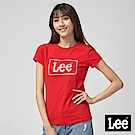 Lee 閃色LOGO短袖圓領TEE/RG