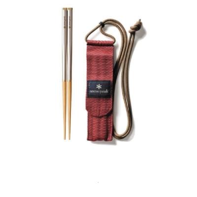 Snow Peak SCT-111 和武器組合筷 方形 L
