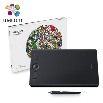 Wacom Intuos Pro Medium 創意觸控繪圖板(PTH-660/K0-C)