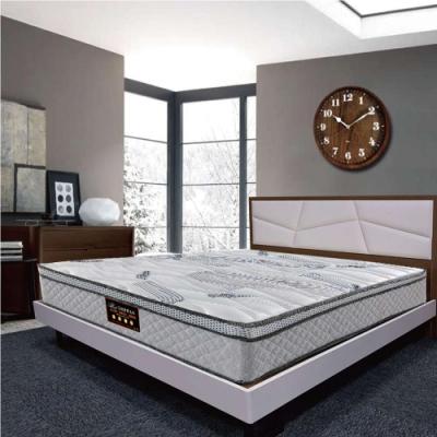Albert艾柏 艾柏 正三線環保涼感抗菌6尺雙人加大獨立筒床墊-180x188x27cm