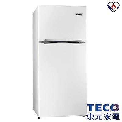 TECO東元  125 L  3 級定頻 2 門電冰箱 R 1303 W