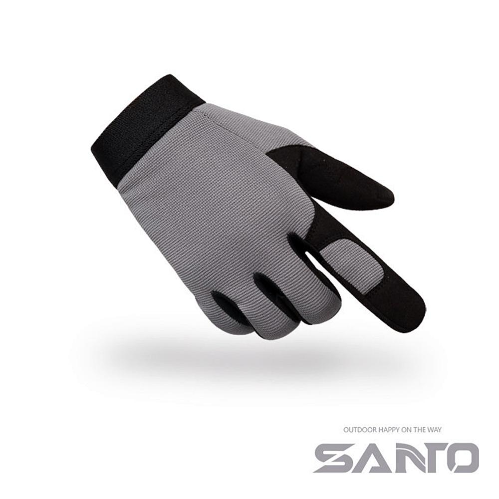 Santo山拓全指戰術手套戶外手套G13(男女通用.吸濕透氣)適騎自行車腳踏車登山