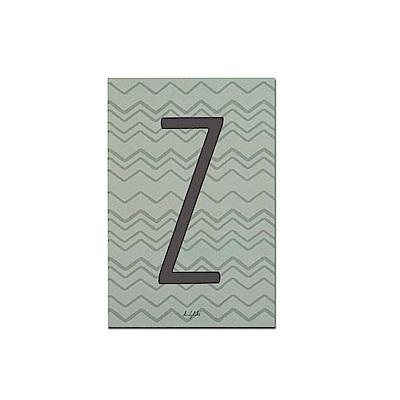 Dailylike 英文字母插畫明信片-26 Z