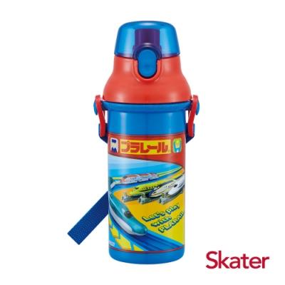 Skater直飲冷水壺 (480ml) 鐵道王國-藍紅