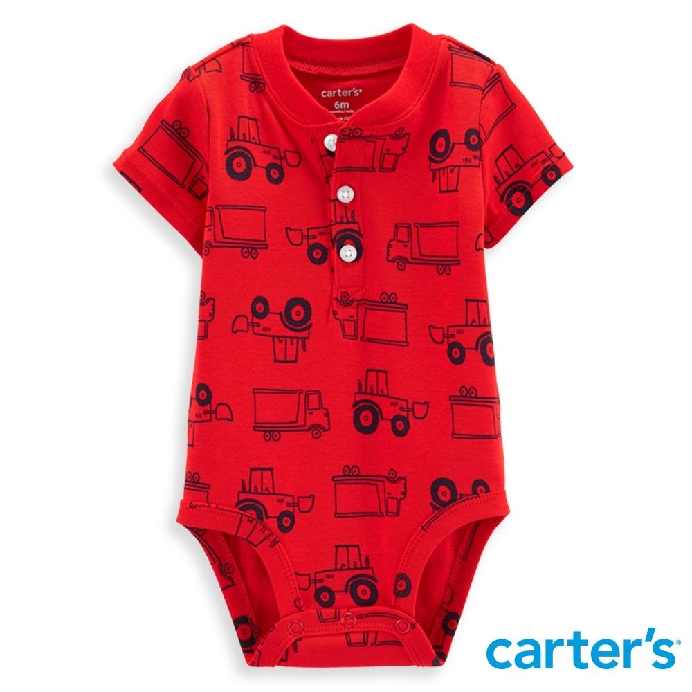 【Carter's】 推土機亮紅包屁衣(6M-24M)任選 (台灣總代理)
