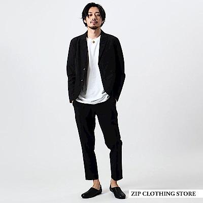 彈性休閒西裝套裝(3色) ZIP日本男裝