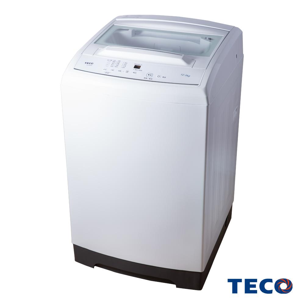 TECO東元12.5KG 定頻直立式洗衣機 W1258FW
