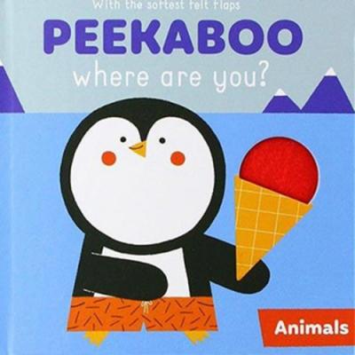 Peekaboo,Where Are You?:Animals 躲貓貓翻翻書:動物篇