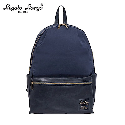 Legato Largo 10口袋後背包-大-深藍 LR-H1051NV