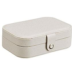 梨花HaNA 閃粉典雅女孩臥室旅行飾品收納盒/珠寶箱