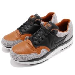Nike 休閒鞋 Air Safari QS 復古 男鞋 特殊紋路 蟾蜍 皮革 球鞋 回憶 黃 黑 AO3295001