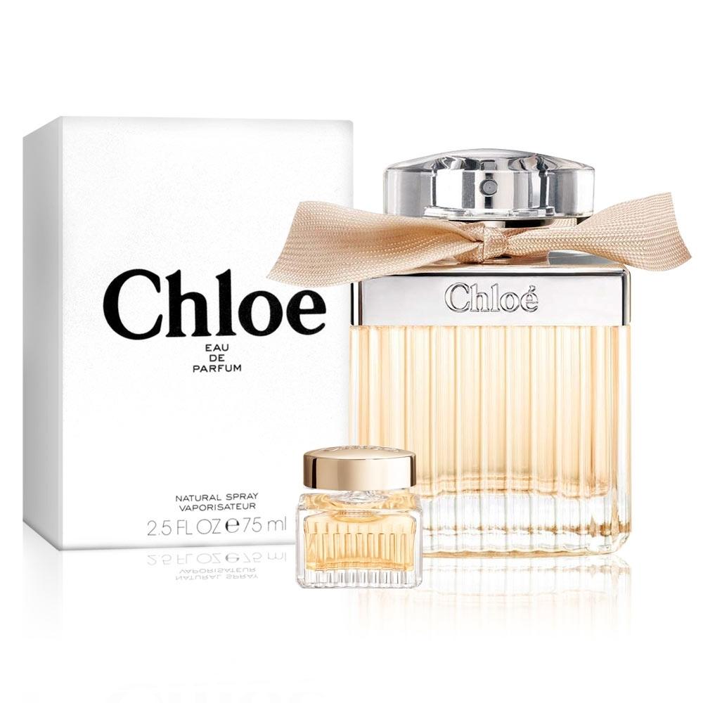 Chloe同名女性淡香精 75ml(贈品牌小香5ml)(tester/環保盒包裝/試用品)-快速到貨
