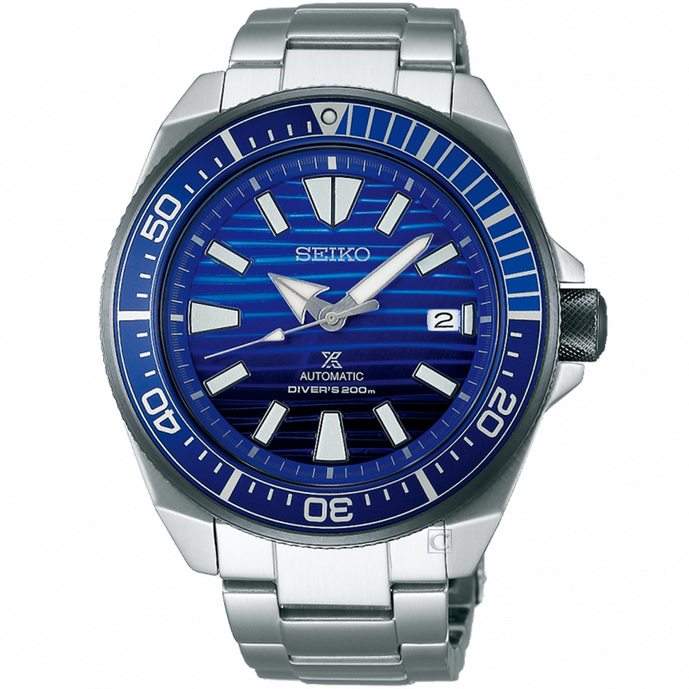 SEIKO PROSPEX DIVER SCUBA潛水機械錶(SRPC93J1)45mm
