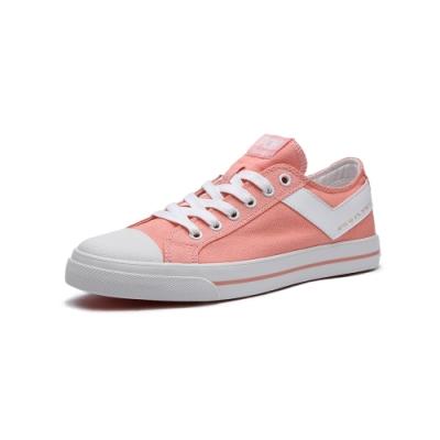 【PONY】SHOOTER帆布鞋 夏季百搭休閒鞋 橘紅