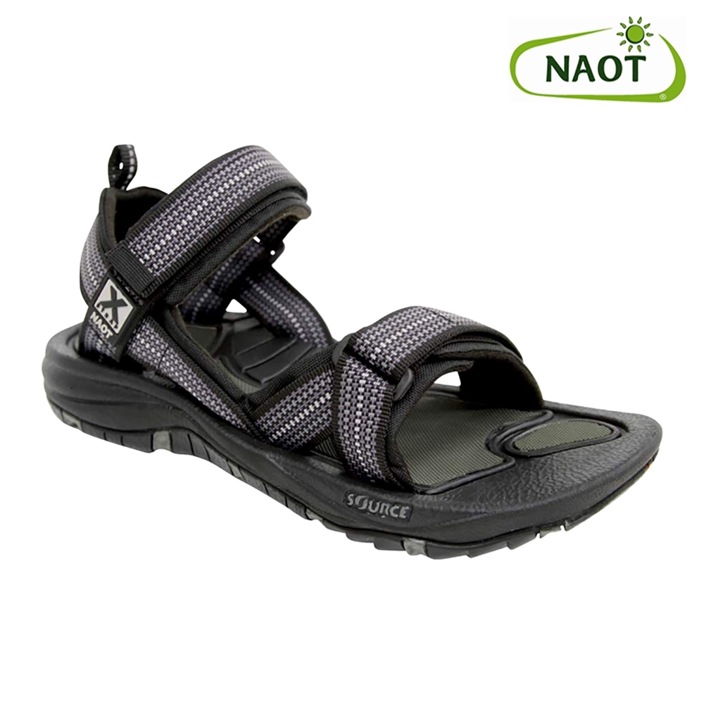 NAOT 男 越野運動涼鞋 HARBOR 38505X11 灰黑格