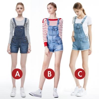 [時時樂限定]BRAPPERS 女款 俏麗吊帶短褲(多款選)
