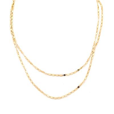 LOVERS TEMPO加拿大品牌 CLEO閃耀雙鍊 金色項鍊