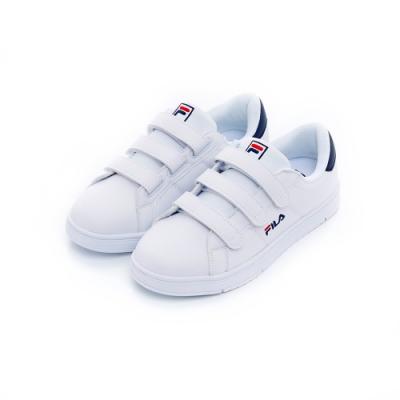 FILA 中性潮流復古鞋-丈青 4-C118U-100