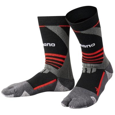 【SHIMANO】暖續力3D機能保暖襪 全趾式 SC-001Q
