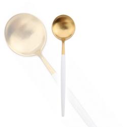 Royal Duke 葡萄牙同款餐匙-白金色(歐洲時尚簡約)