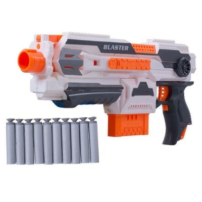 《Blaster》電動擬真造型玩具軟彈槍 附10發軟彈