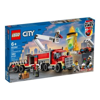 樂高LEGO 城市系列 - LT60282 消防指揮車