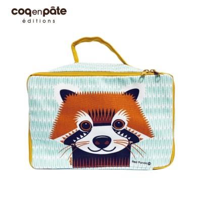 【COQENPATE】法國有機棉布包-方方兒拎出門- 小熊貓