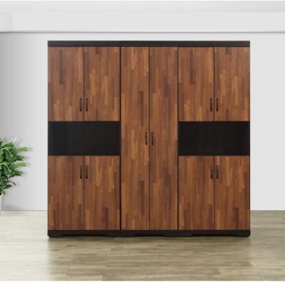 MUNA 艾曼7X7尺中空衣櫥(共兩色)  210X55X203cm