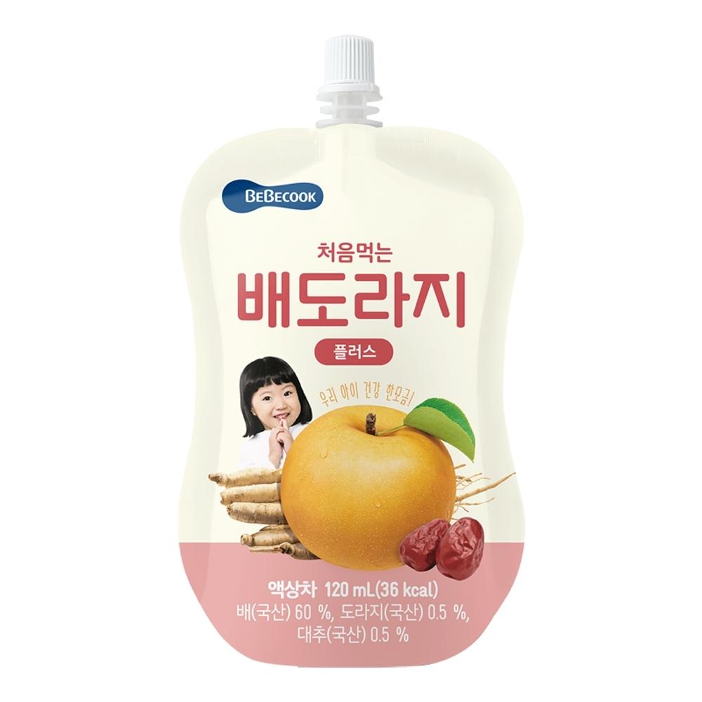 韓國 【BEBECOOK】 嬰幼兒雪梨紅棗桔梗汁2入組