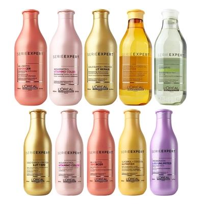 [時時樂限定] L'OREAL萊雅專業 絲漾博洗髮精300ml+護髮乳200ml (多款搭選) 原廠公司貨